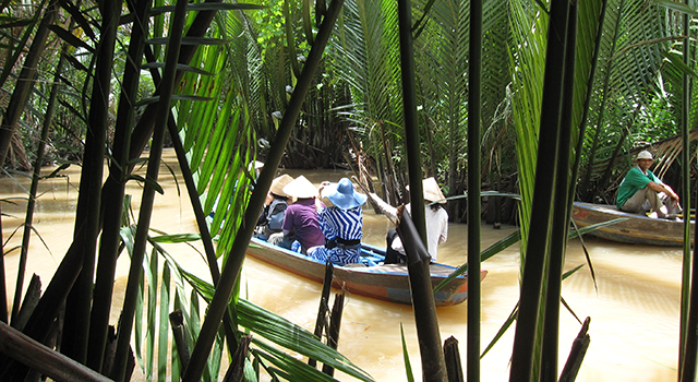 Tonkin travel mekong delta tonkin travel for Jardin du mekong homestay