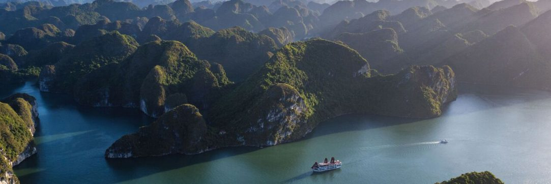 Overview of Halong Bay